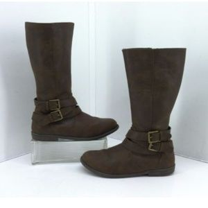 Kenneth Cole Reaction Brown Pippa Rider Boots
